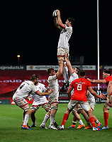 9th November 2019 | Munster vs Ulster<br /> <br /> Sam Carter during the Round 6 PRO14 League clash between Munster Rugby and Ulster Rugby at Thomond Park, Limerick, Ireland. Photo by John Dickson / DICKSONDIGITAL