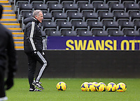 Wednesday 05 February 2014<br /> Pictured: Alan Curtis<br /> Re: Swansea City FC training with Garry Monk as head coach after the departure of Michael Laudrup, at the Li Liberty Stadium, south Wales.