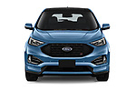 Car photography straight front view of a 2019 Ford Edge ST 5 Door SUV