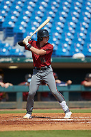 Billy Amick (10) of P27 Academy in Columbia, SC playing for the Arizona Diamondbacks scout team during the East Coast Pro Showcase at the Hoover Met Complex on August 5, 2020 in Hoover, AL. (Brian Westerholt/Four Seam Images)