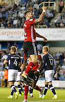 GOAL - Ipswich Town's Luke Chambers celebrates Jordan Spence's goal during the Sky Bet Championship match between Millwall and Ipswich Town at The Den, London, England on 15 August 2017. Photo by Carlton Myrie.
