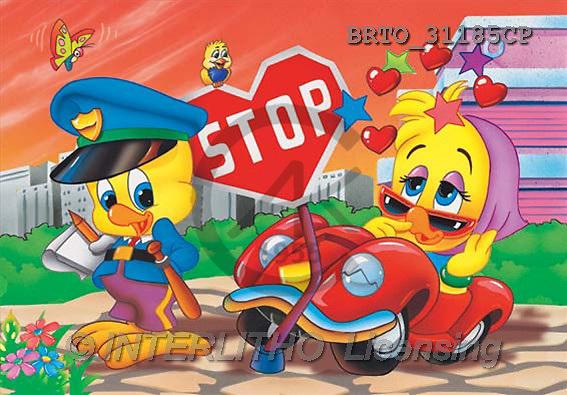 Alfredo, CUTE ANIMALS, puzzle, paintings(BRTO31185CP,#AC#) illustrations, pinturas, rompe cabeza