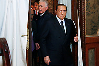 Silvio Berlusconi<br /> Rome December 12th 2018. Presentation of the book 'Revolution'.<br /> Foto Samantha Zucchi Insidefoto