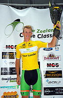 Tour leader Nick Reddish (Oliver's Real Food Racing, Australia). Stage One of the 2018 NZ Cycle Classic UCI Oceania Tour in Wairarapa, New Zealand on Wednesday, 17 January 2018. Photo: Dave Lintott / lintottphoto.co.nz