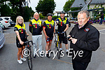 Members of the Tralee Chain Gang Cyling club display their new on bike cameras. Front right John Murray (Chairman). Back l to r: Avril Hewitt, Pat Keoghan, Declan Murphy and Dave Elton.