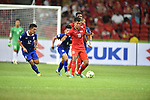 Singapore vs Thailand during the 2014 AFF Suzuki Cup Group B match on November 23, 2014 at the Singapore National Stadium in Singapore. Photo by Stringer / World Sport Group