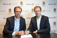 16-12-10, Tennis, Rotterdam, Reaal Tennis Masters 2010, Contract ondertekening KNLTB en Muellier Instiruut