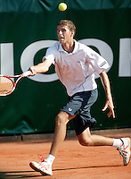 16-8-06,Amsterdam, tennis , NK, first round match, Robin Haase