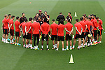 Atletico de Madrid's team during Champions League 2015/2016 training session. May 27,2016. (ALTERPHOTOS/Acero)