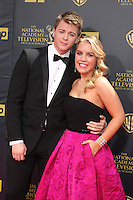 LOS ANGELES - APR 26:  Chad Duell, Kristen Alderson at the 2015 Daytime Emmy Awards at the Warner Brothers Studio Lot on April 26, 2015 in Burbank, CA