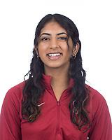 Stanford, CA - November 7, 2019: Krithi Reddy Athlete Headshot.