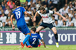 Tottenham Hotspur defender Jan Vertonghen (R) fights for the ball with SC Kitchee Defender Nando (L) during the Friendly match between Kitchee SC and Tottenham Hotspur FC at Hong Kong Stadium on May 26, 2017 in So Kon Po, Hong Kong. Photo by Man yuen Li  / Power Sport Images