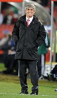 Iraq manager Bora Milutinovic. Iraq and New Zealand tied 0-0 during the FIFA Confederations Cup at Ellis Park Stadium in Johannesburg, South Africa on June 20, 2009..