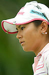 SINGAPORE - MARCH 07:  Ai Miyazato of Japan walks on the par five 5th hole during the third round of HSBC Women's Champions at the Tanah Merah Country Club on March 7, 2009 in Singapore.  Photo by Victor Fraile / The Power of Sport Images