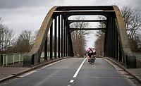 trying to get back to the front peloton...<br /> <br /> 72nd Kuurne-Brussel-Kuurne 2020 (1.Pro)<br /> Kuurne to Kuurne (BEL): 201km<br /> <br /> ©kramon