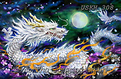 Kayomi, REALISTIC ANIMALS, REALISTISCHE TIERE, ANIMALES REALISTICOS,dragon, paintings+++++,USKH308,#a#, EVERYDAY