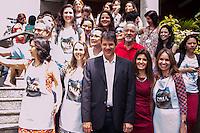 """SÃO PAULO,SP, 16.10.2015 - HADDAD-SP - O prefeito de São Paulo Fernando Haddad  durante palestra """"A Cidade para o Cidadão: Viver e Comer em São Paulo"""", em comemoração ao Dia Mundial da Alimentação, na Faculdade de Saúde Pública, em São Paulo nesta sexta-feira. (Foto: Victor Abex/Brazil Photo Press)"""