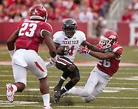 NWA Democrat-Gazette/BEN GOFF @NWABENGOFF<br /> Arkansas vs Texas Tech on Saturday Sept. 19, 2015 during the game in Razorback Stadium in Fayetteville.