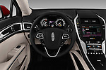 Car pictures of steering wheel view of a 2016 Lincoln MKZ - 4 Door Sedan Steering Wheel