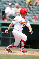 April 15, 2009:  Outfielder Charles Kingrey (21) of the Palm Beach Cardinals, Florida State League Class-A affiliate of the St. Louis Cardinals, during a game at Roger Dean Stadium in Jupiter, FL.  Photo by:  Mike Janes/Four Seam Images
