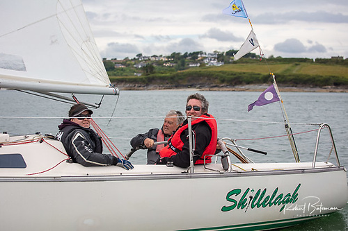 The 'Shillelagh' team - winner of White Sails 2 - powered by North Sails