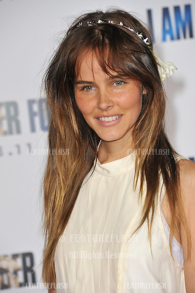 """Isabel Lucas at the world premiere of """"I Am Number Four"""" at the Mann Village Theatre, Westwood..February 9, 2011  Los Angeles, CA.Picture: Paul Smith / Featureflash"""