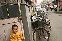Hutongs. Beijing, China.