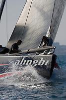 Alinghi SUI100 .II TROFEO DESAFÍO ESPAÑOL - Club Náutico Español de Vela, Port America's Cup, Valencia, España/Spain. 7th to the 9th of November 2008. America's Cup Class V5 competition with Desafío Español ESP97, Team Origin GBR88, Alinghi SUI100, Luna Rossa ITA94 and near one hundred of yachts will participate.