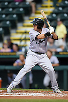 Jupiter Hammerheads outfielder Cameron Flynn (4) during a game against the Bradenton Marauders on April 17, 2014 at McKechnie Field in Bradenton, Florida.  Bradenton defeated Jupiter 2-1.  (Mike Janes/Four Seam Images)