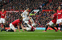 Pictured: (C) Chico Flores.<br /> Sunday 12 May 2013<br /> Re: Barclay's Premier League, Manchester City FC v Swansea City FC at the Old Trafford Stadium, Manchester.