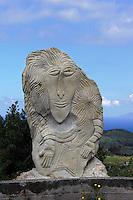 Kunst im Parco Museo Jalari, Sizilien, Italien