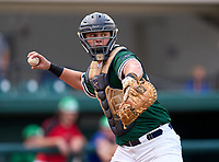 McKeel Academy Wildcats catcher Andrew Sundean (6) during the 42nd Annual FACA All-Star Baseball Classic on June 6, 2021 at Joker Marchant Stadium in Lakeland, Florida.  (Mike Janes/Four Seam Images)