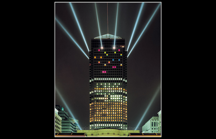One Canada Square (Built 1988-1991) - Docklands Square 7 - London