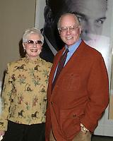©2004 KATHY HUTCHINS /HUTCHINS PHOTO.EUGENE O'NEILL THEATER .HONORS KARL MALDEN.BEVERLY HILLS, CA.NOVEMBER 11, 2004..SHIRLEY JONES.LARRY HAGMAN