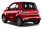 Car pictures of rear three quarter view of 2020 Smart EQ-fortwo Comfort-Plus 3 Door Hatchback Angular Rear