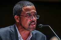 Pastor Darrell Scott speaks during the House Judiciary Committee hearing on ÎPolicing Practices and Law Enforcement AccountabilityÌ at the US Capitol in Washington, DC, USA, 10 June 2020. The hearing comes after the death of George Floyd while in the custody of officers of the Minneapolis Police Department and the introduction of the Justice in Policing Act of 2020 in the US House of Representatives.<br /> Credit: Michael Reynolds / Pool via CNP/AdMedia