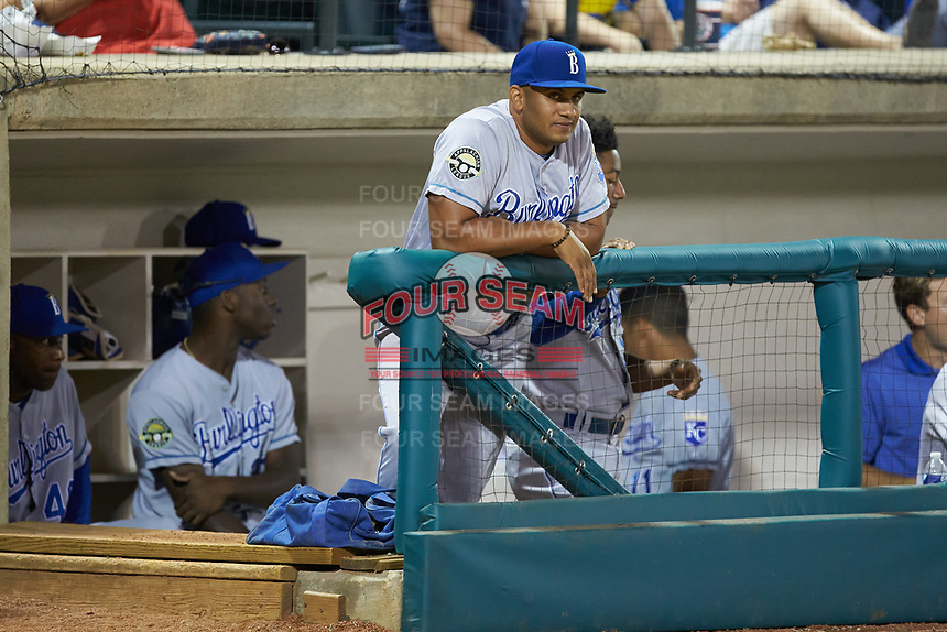 at Calfee Park on September 1, 2019 in Pulaski, Virginia. The Royals defeated the Yankees 5-4 in 17 innings. (Brian Westerholt/Four Seam Images)