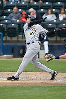 June 1, 2008: Salt Lake Bees' Adam Pavkovich at-bat against the Tacoma Rainiers at Cheney Stadium in Tacoma, Washington.