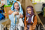 Ardfert NS Junior Infants Colin O'Sullivan and Evie McAuliffe will be the starts of their schools Nativity show this Christmas