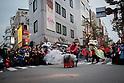 Yokohama, Chinese Lunar new year parade celebration