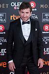Antonio de la Torre attends red carpet of Goya Cinema Awards 2018 at Madrid Marriott Auditorium in Madrid , Spain. February 03, 2018. (ALTERPHOTOS/Borja B.Hojas)