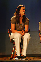 4 April 2008: Stanford Cardinal Jillian Harmon during Stanford's 2008 NCAA Division I Women's Basketball Final Four salute dinner at the Tampa Convention Center in Tampa Bay, FL.