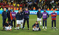USA dejection. Brazil defeated USA 3-2 in the FIFA Confederations Cup Final at Ellis Park Stadium in Johannesburg, South Africa on June 28, 2009.