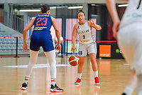 Marjorie Capreaux (9) of Belgium pictured during a basketball game between the national teams of Belgium , called the Belgian Cats , and Serbia on Friday 28 th of May 2021 in Kortrijk , Belgium . PHOTO SPORTPIX.BE   SPP   STIJN AUDOOREN