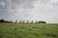 Team Topsport Vlaanderen-Baloise during TTT recon<br /> <br /> 12th Eneco Tour 2016 (UCI World Tour)<br /> stage 5 (TTT) Sittard-Sittard (20.9km) / The Netherlands