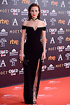 Aura Garrido attends to the Red Carpet of the Goya Awards 2017 at Madrid Marriott Auditorium Hotel in Madrid, Spain. February 04, 2017. (ALTERPHOTOS/BorjaB.Hojas)
