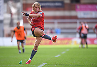 30th August 2020; Kingsholm Stadium, Gloucester, Gloucestershire, England; English Premiership Rugby, Gloucester versus Leicester Tigers; Billy Twelvetrees of Gloucester converts the try of Ollie Thorley of Gloucester