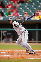 Jackson Generals outfielder Daniel Paolini (2) at bat during a game against the Montgomery Biscuits on April 29, 2015 at Riverwalk Stadium in Montgomery, Alabama.  Jackson defeated Montgomery 4-3.  (Mike Janes/Four Seam Images)