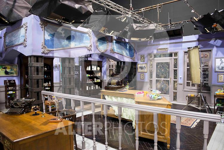 "New set for the new season of the tv series ""El Secreto de Puente Viejo""  in Madrid, February 10, Madrid."