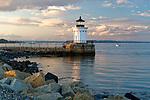 Portland Breakwater Light (aka Bug Light), South Portland, Maine, USA